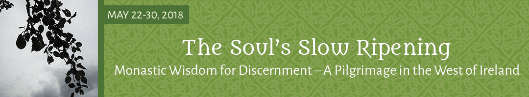The Soul's Slow Ripening: <br>Monastic Wisdom for Discernment – A Pilgrimage in the West of Ireland (2018)