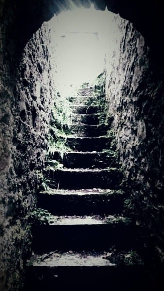 inchgoaill stairs