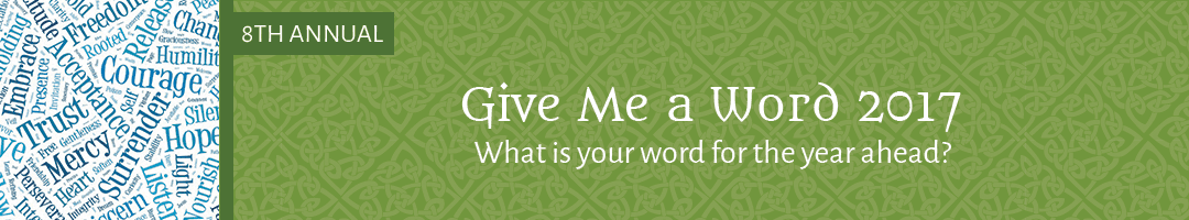 Give Me a Word 2017: 8th Annual Giveaway