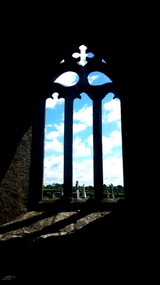 kilmacduagh window