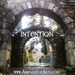 April 6 - Intention