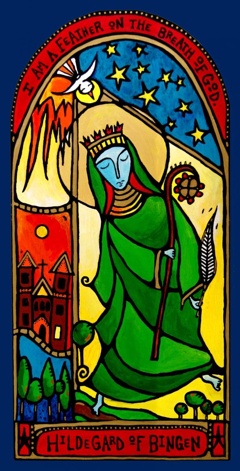 Hildegard Icon