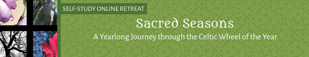 Sacred Seasons: <BR>A Yearlong Journey through the Celtic Wheel of the Year