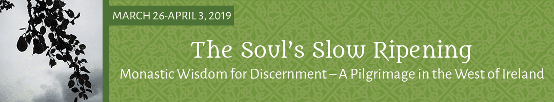 The Soul's Slow Ripening: <br>Monastic Wisdom for Discernment – A Pilgrimage in the West of Ireland