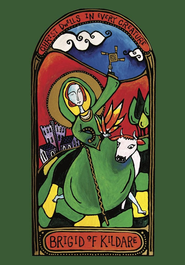 Blessed Feast of St. Brigid – Join us for the Spiral Way! ~ A Love Note from Your Online Abbess
