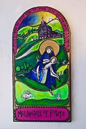 St Melangell of Powys
