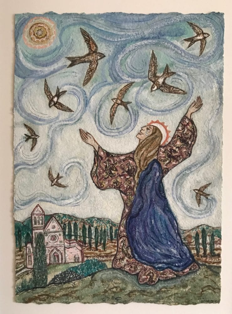 St Clare and the Swifts