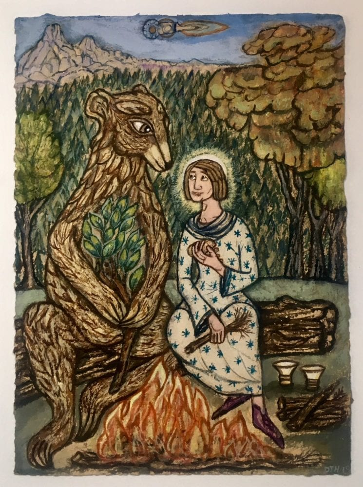 St Gall and the Bear