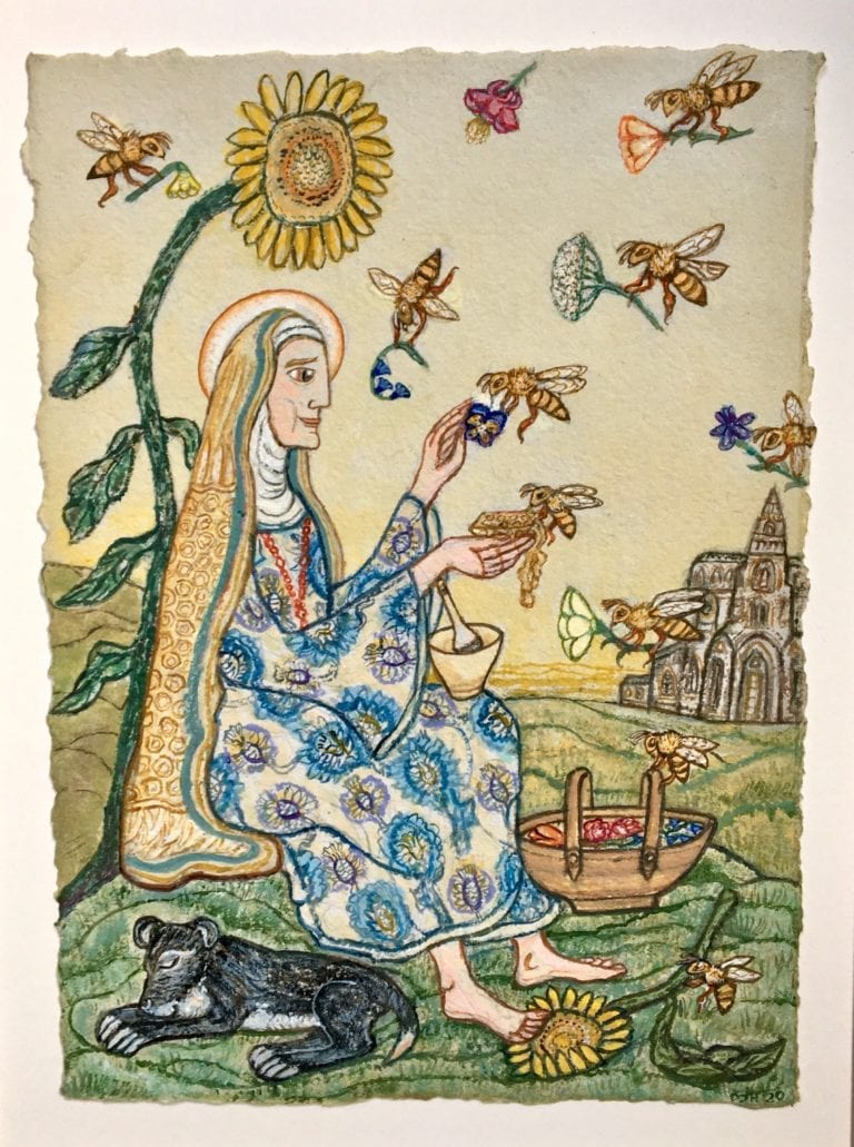 St Gobnait and the Bees