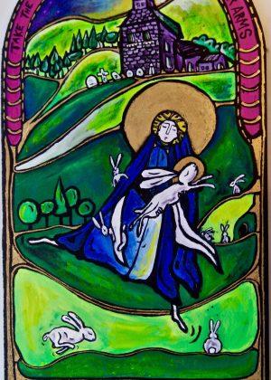 Melangell of Powys, Dancing Monk